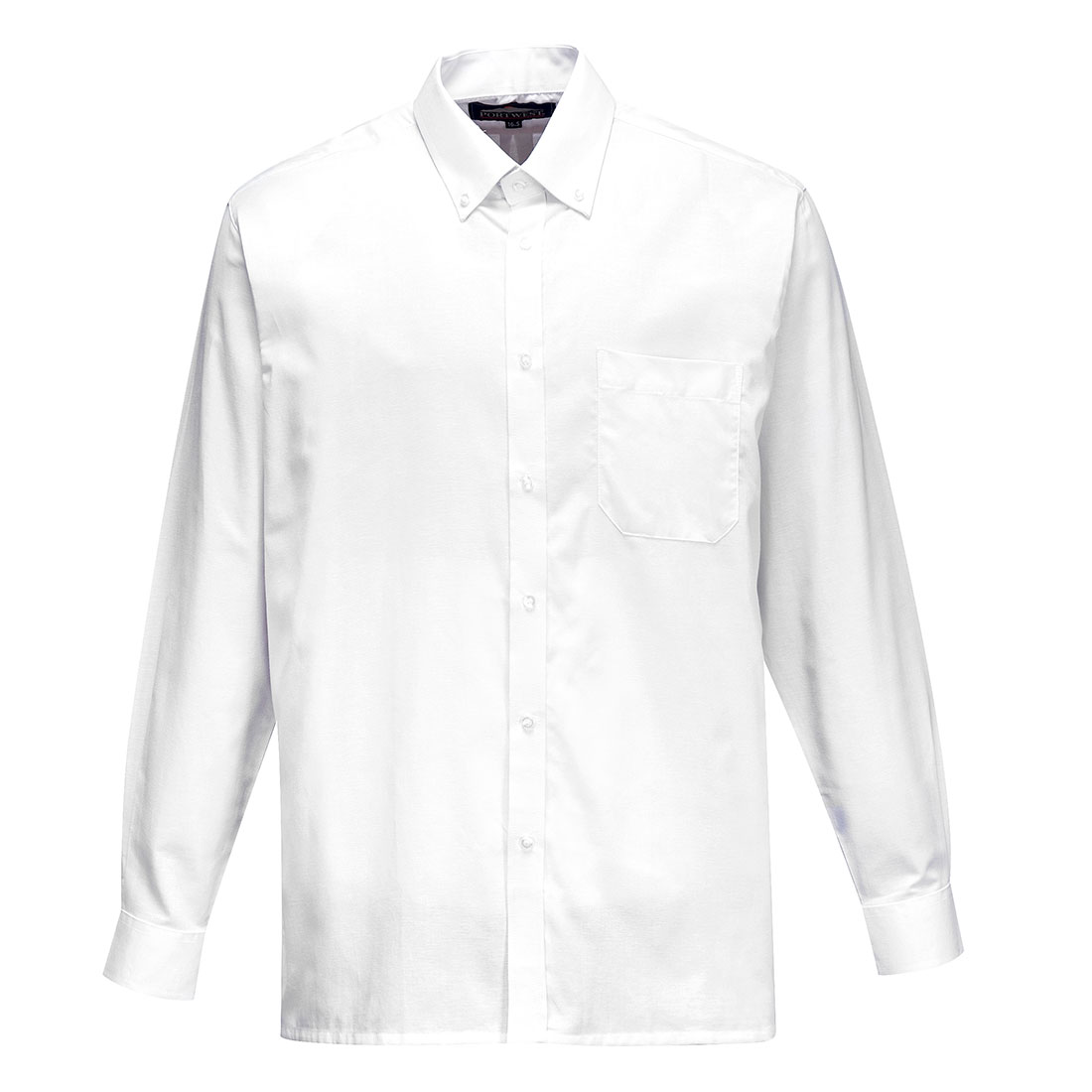 Oxford Shirt Long Sleeve White 180R