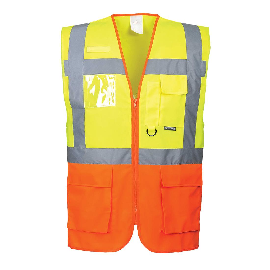 Prague Executive Vest Yellow/Orange LR