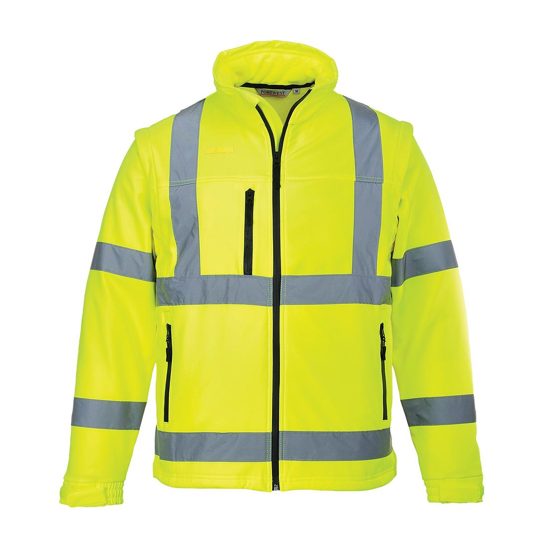 Hi-Vis Softshell Jacket Yellow LR