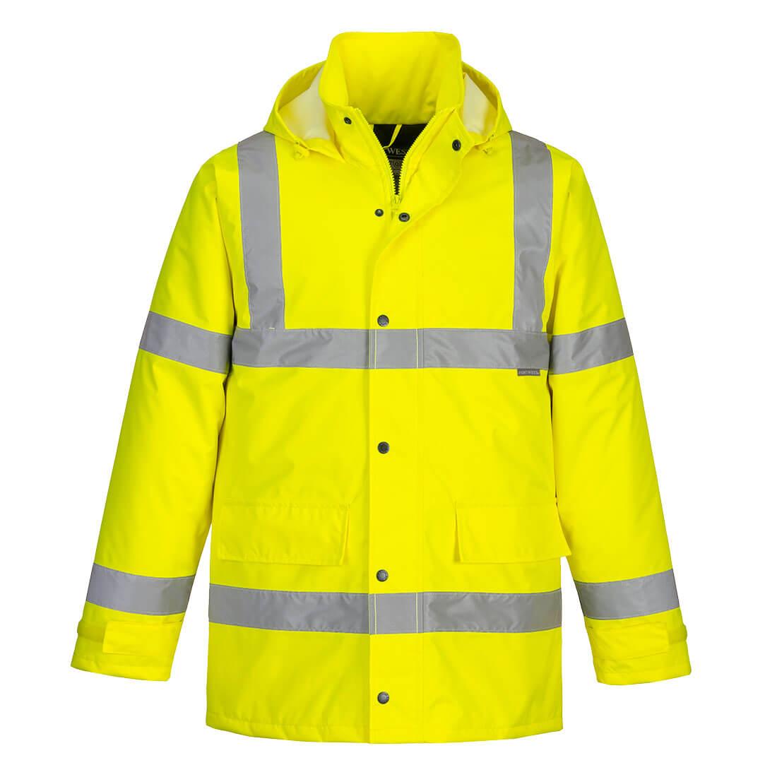 Hi-Vis Traffic Jacket Yellow XXLR
