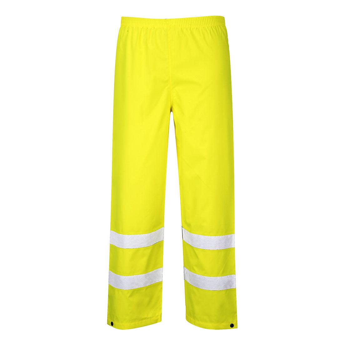 Hi-Vis Traffic Trouser Yellow XLT