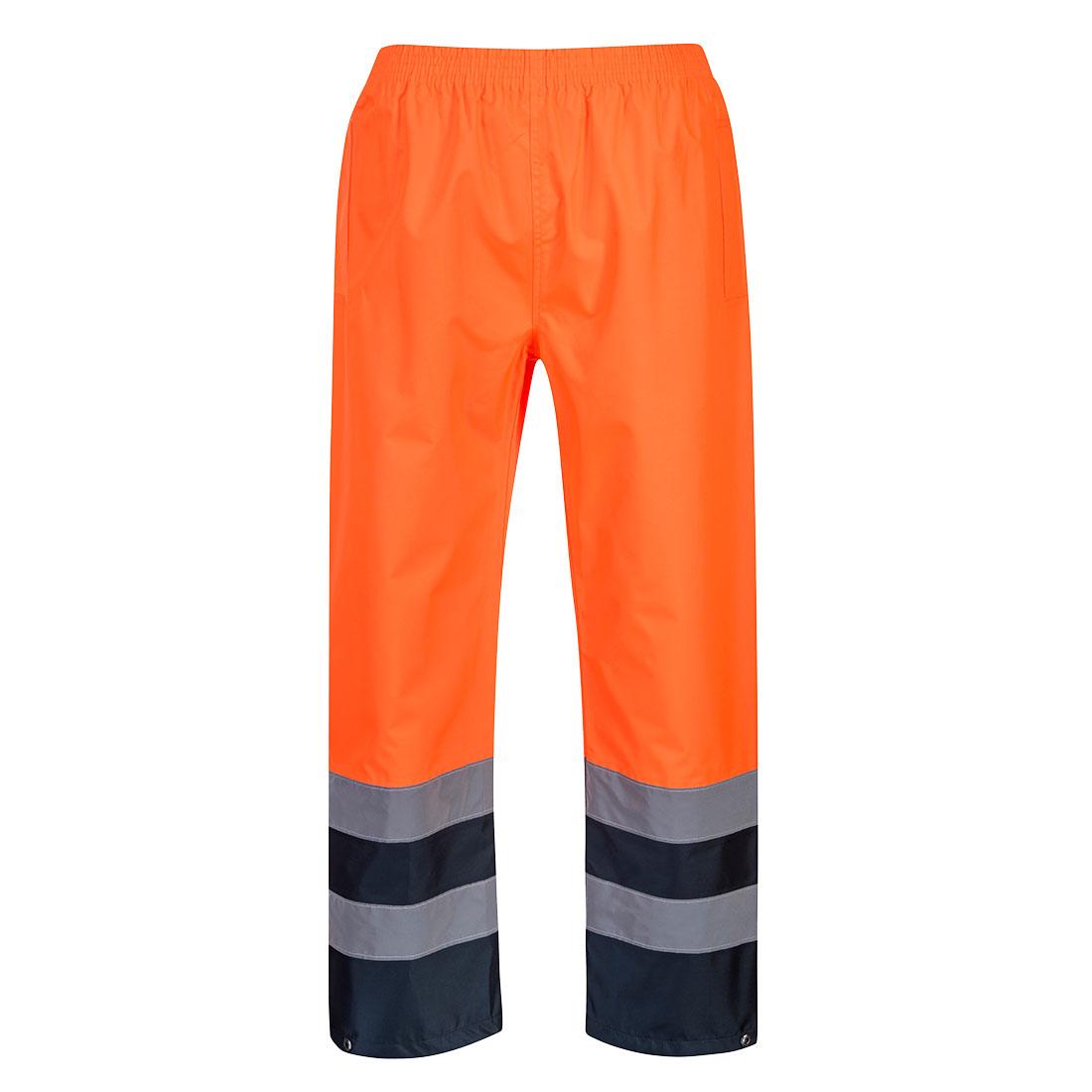 Hi-Vis 2-Tone Trouser Orange LR