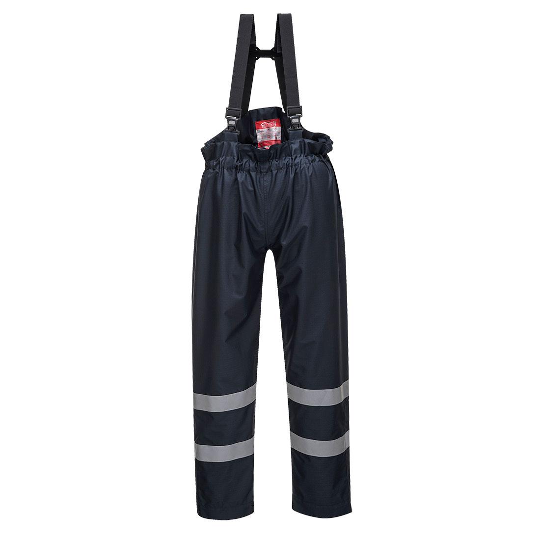 Bizflame Rain Trousers Navy XLR