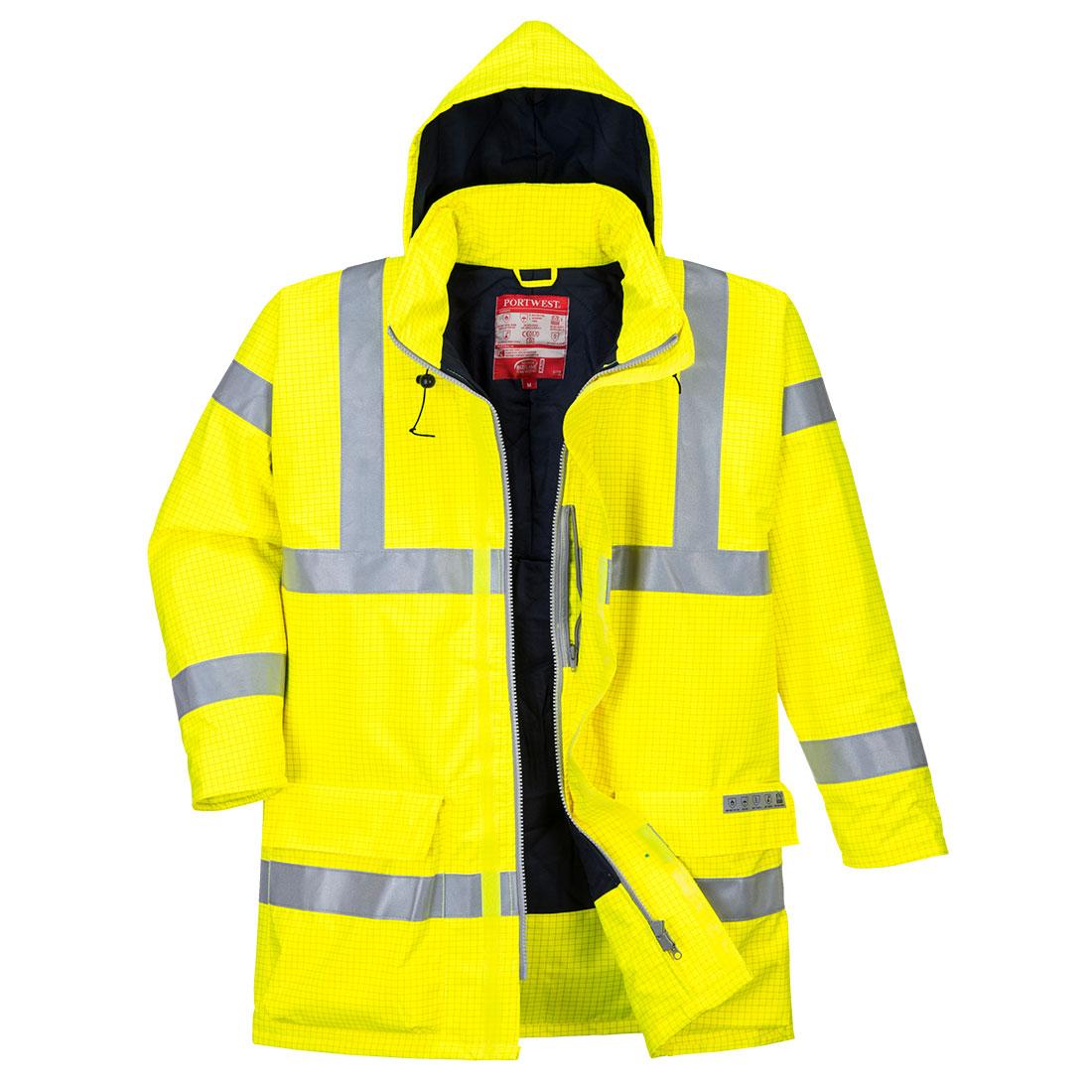 Antistatic FR Jacket Yellow 4XLR
