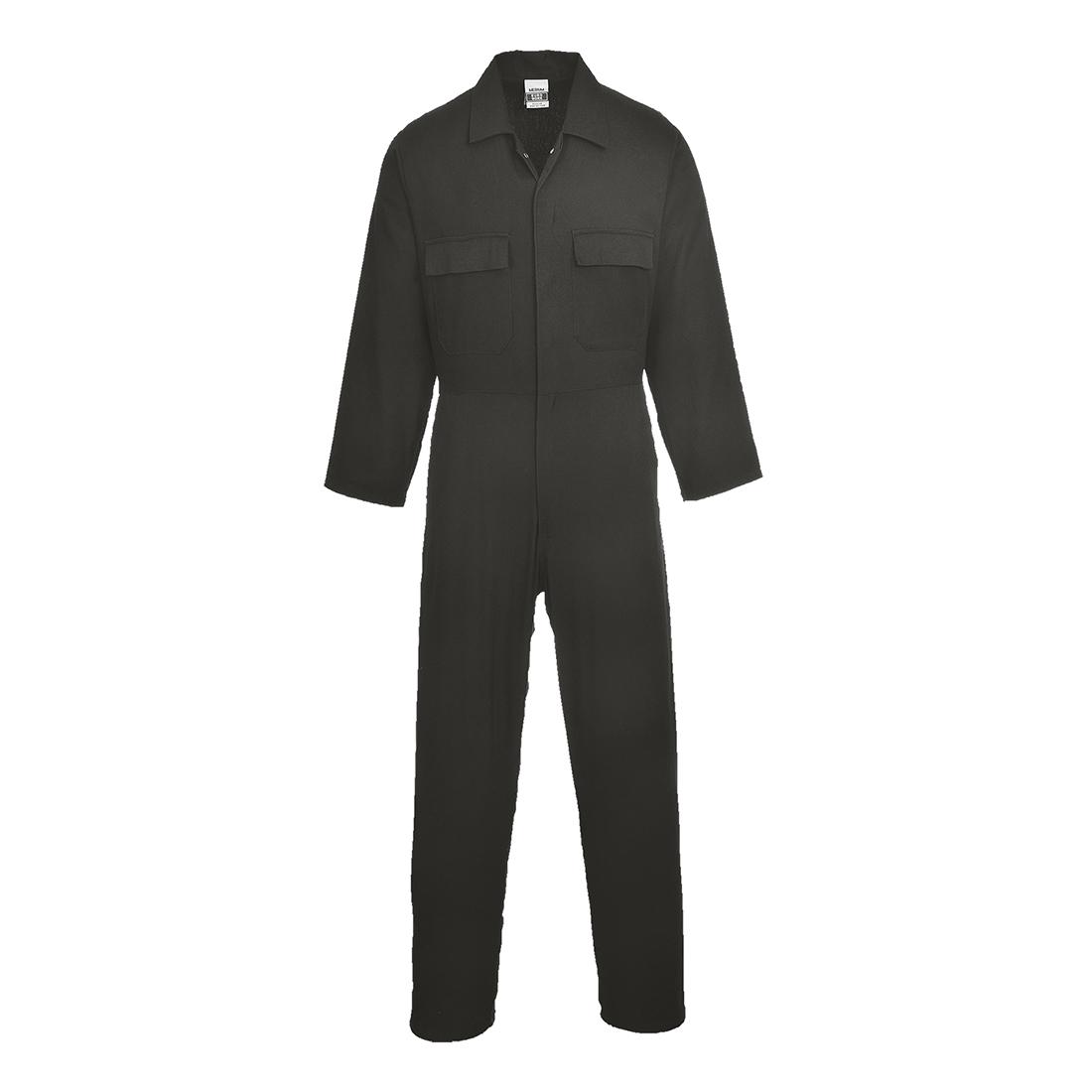 Euro Cotton Boilersuit Black XLR