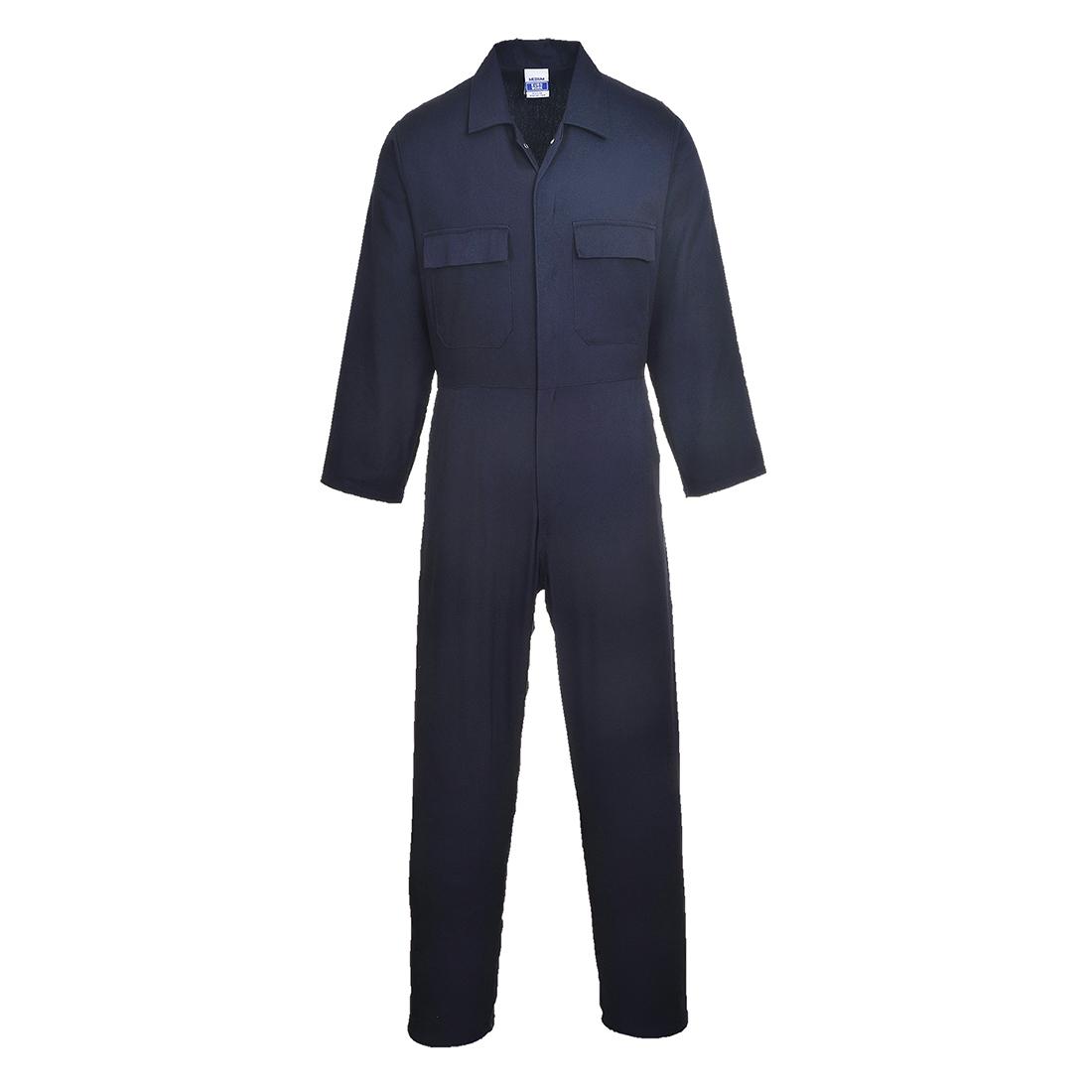 Euro Cotton Boilersuit Navy SR