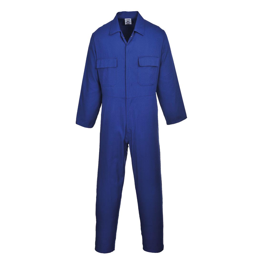 Euro Work Boilersuit Royal Blue LR