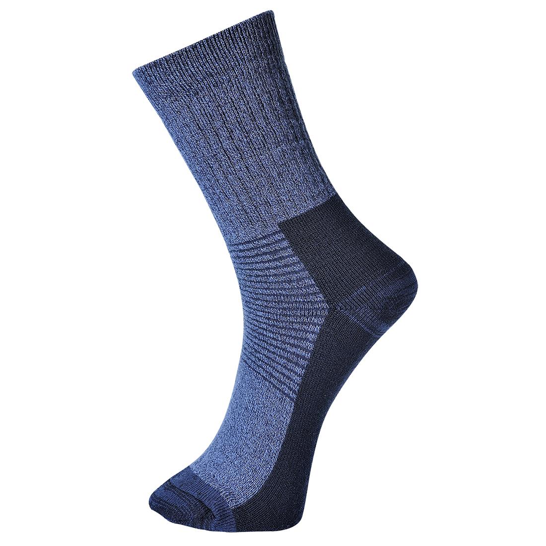 Thermal Sock Blue 39-43