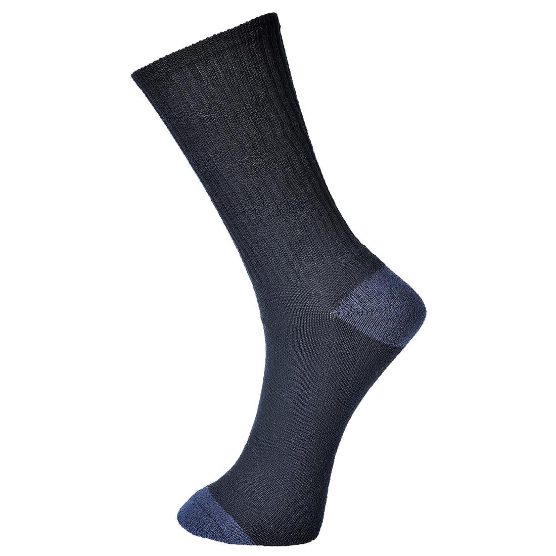 Classic Cotton Sock Black 44-48R