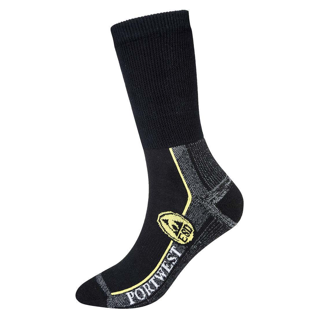 ESD Work Sock Black 44-48R