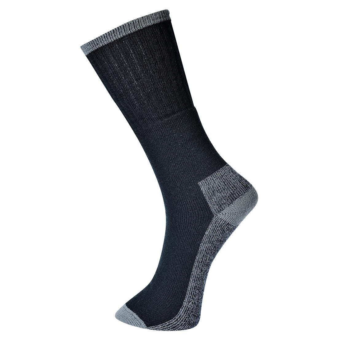 Work Sock - Triple Pack Black 39-43R