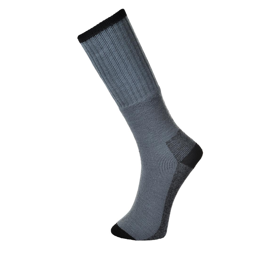 Work Sock - Triple Pack Grey 44-48R