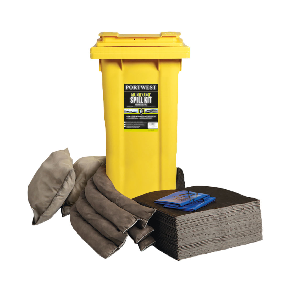 Spill 120L Maintenance Kit Grey