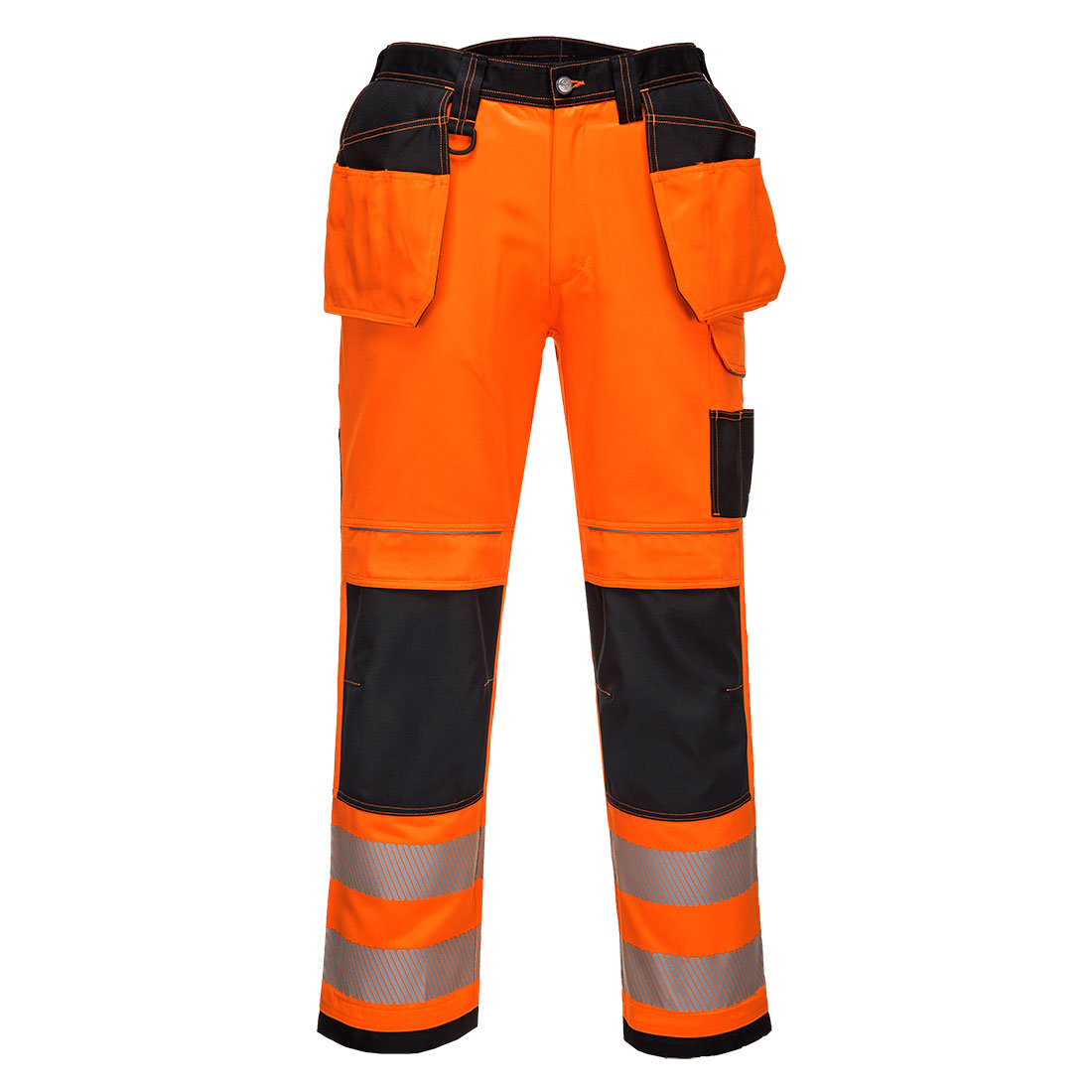 PW3 Hi-Vis Holster Trousers Orange/Black 46R