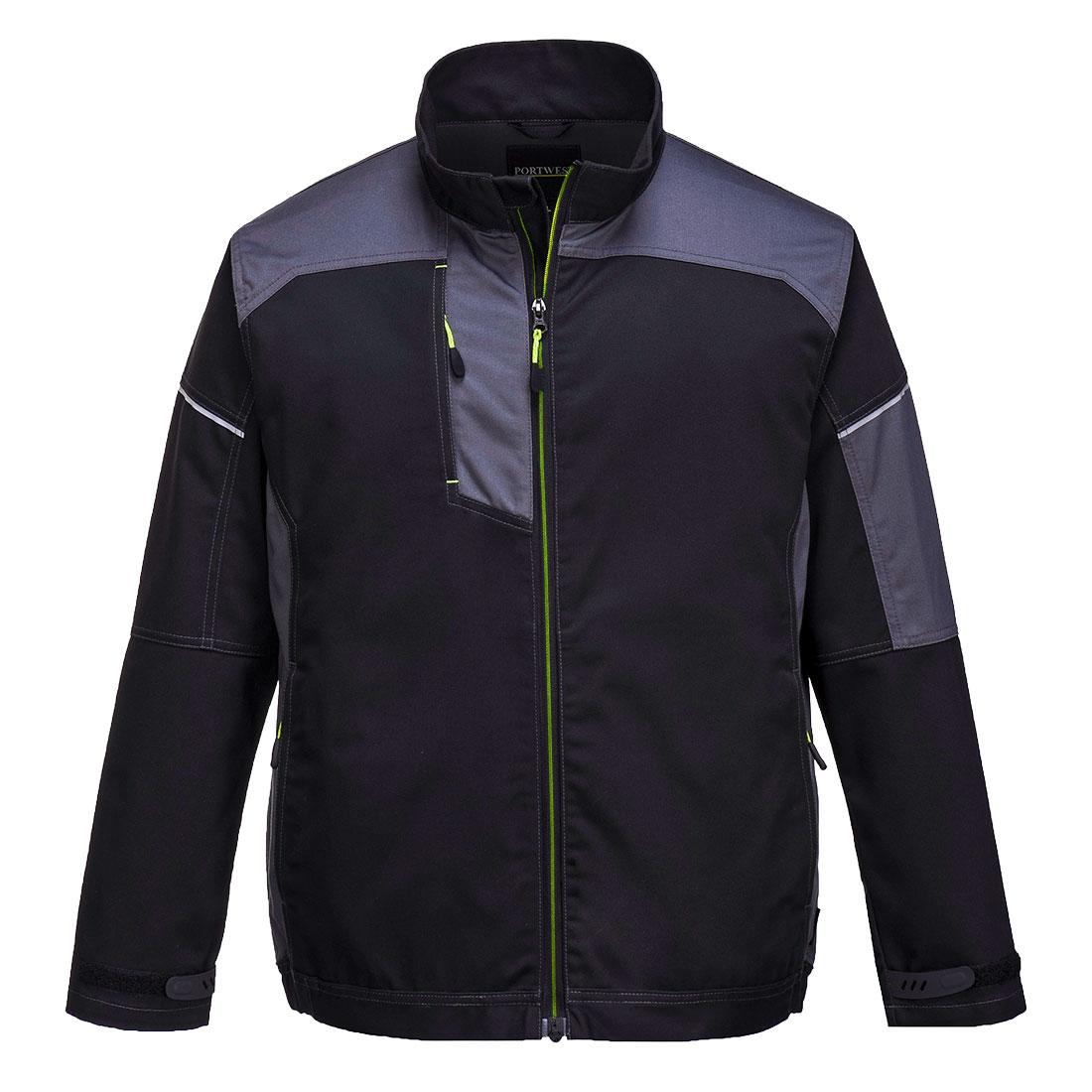 PW3 Work Jacket Black/Zoom Grey XLR