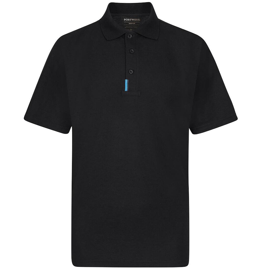 WX3 Polo Shirt Black XLR