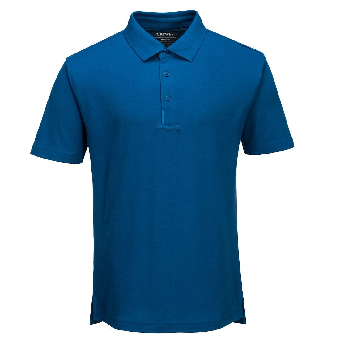 WX3 Polo Shirt Persian Blue MR