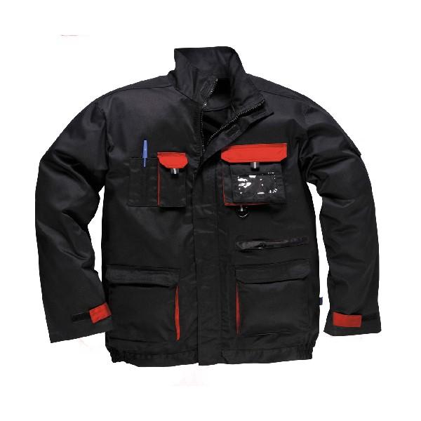 Contrast Jacket Black/Red XLR