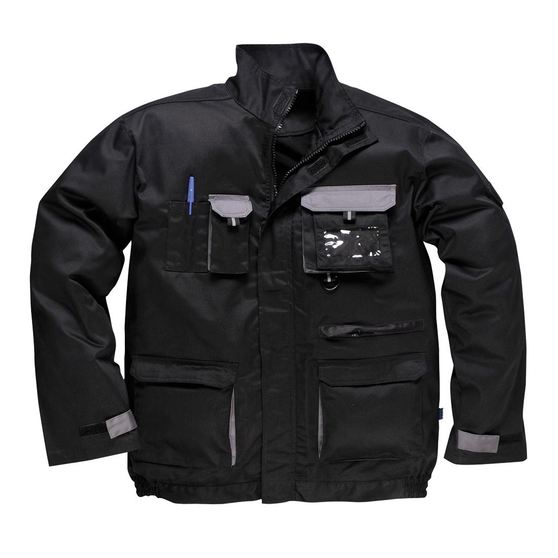 Contrast Jacket Black XXXLR