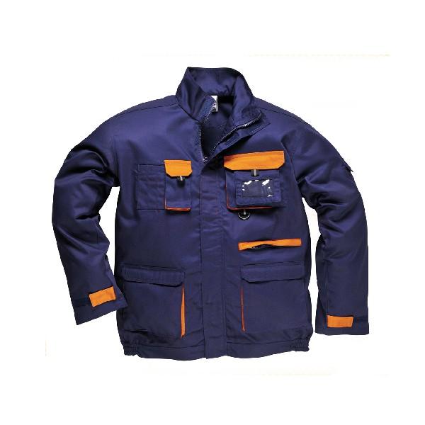 Contrast Jacket Navy/Orange XXXLR