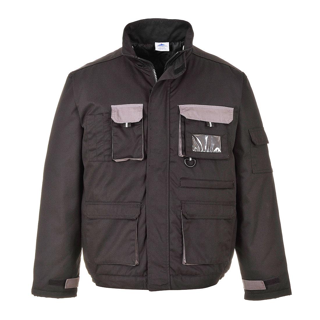 Contrast Lined Jacket Black LR