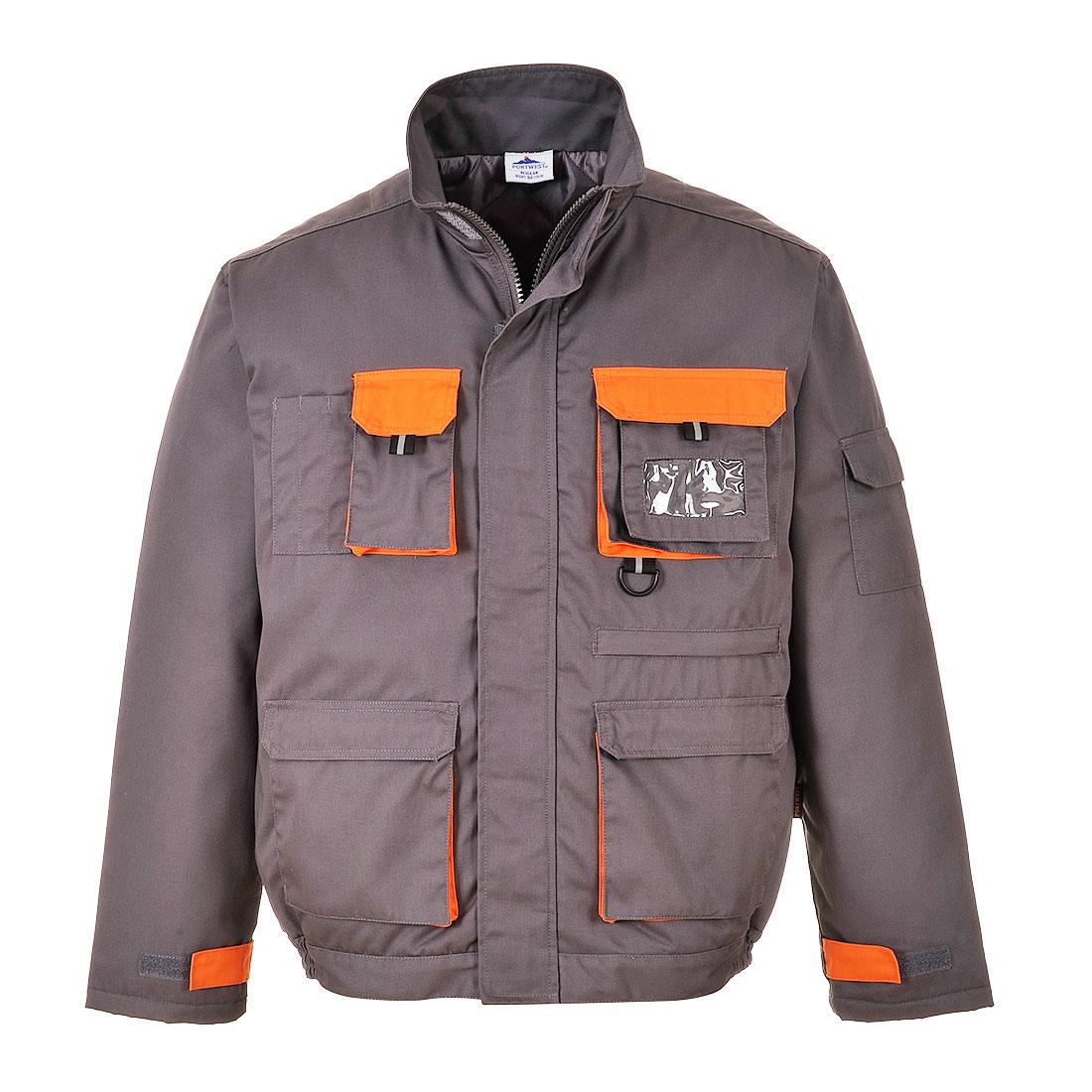 Contrast Lined Jacket Grey LR