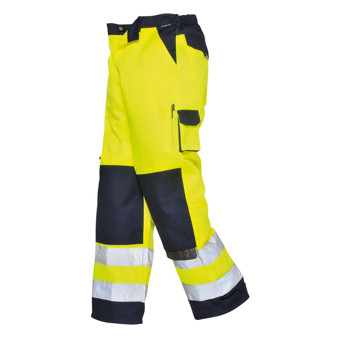 Lyon Hi-Vis Trousers Yellow/Navy XXLR